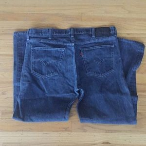 Levi's bluish 562 Jeans 38 34 loose taper